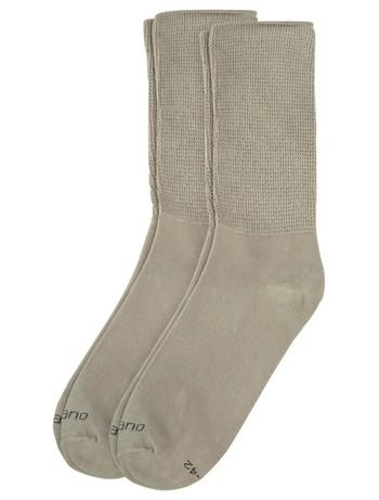 Camano unisex sport socks 2pairs sand