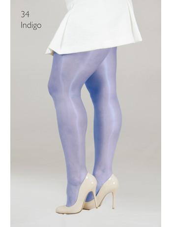 Cecilia de Rafael 15 Sevilla tights indigo