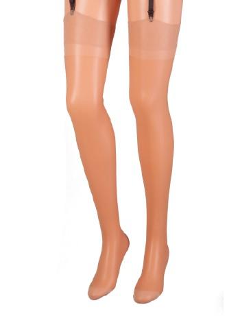 Cecilia de Rafael Barbara Sheer Nylon Stockings 20DEN natural