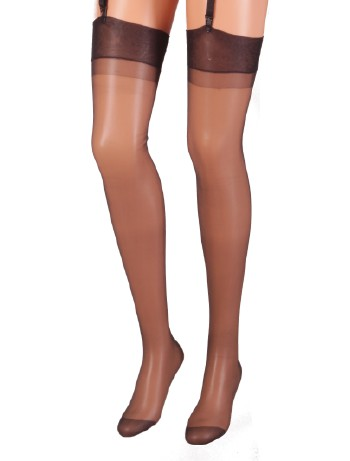 Cecilia de Rafael Barbara Sheer Nylon Stockings 20DEN negro