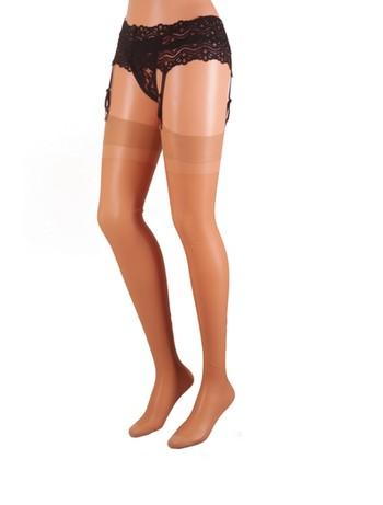 Cecilia de Rafael Barbara Sheer Nylon Stockings 20DEN te