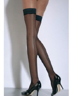 Cecilia de Rafael Hyde Park 20 Back Seamed Stockings