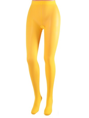 Cecilia de Rafael 50 Samburu New Chacal opaque Tights amarillo