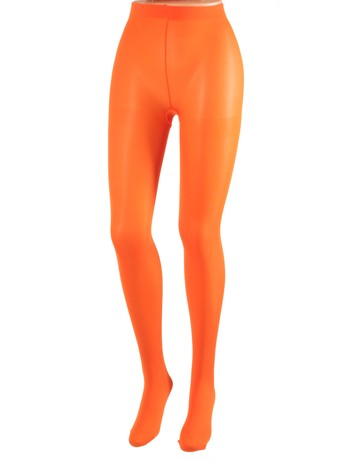 Cecilia de Rafael 50 Samburu New Chacal opaque Tights naranja