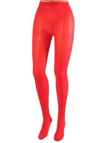 Cecilia de Rafael 50 Samburu New Chacal opaque Tights rojo