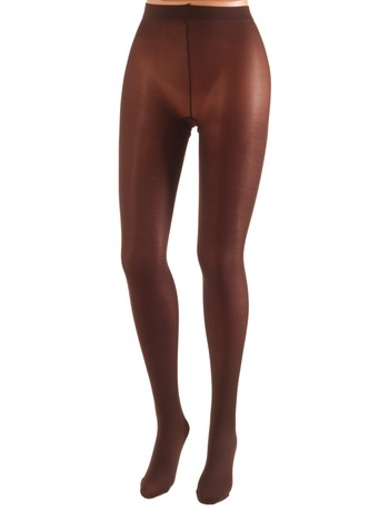 Cecilia de Rafael 50 Samburu New Chacal opaque Tights chocolate