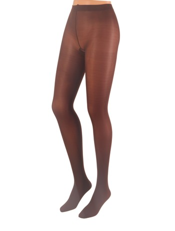 Cecilia de Rafael 50 Samburu New Chacal opaque Tights marron