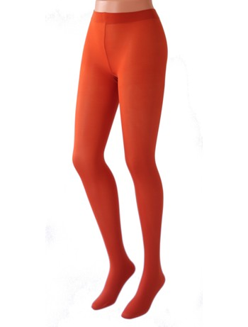 Cecilia de Rafael 50 Samburu New Chacal Tights arancio
