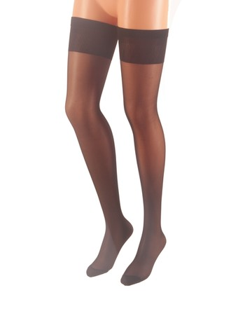 CdR Samburu Berta Thigh High Stockings w/o Silicone negro