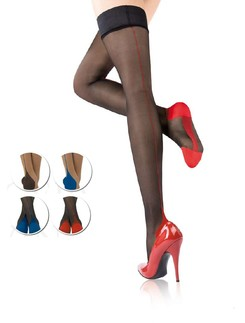 Cervin Agn�s Couture Bicolore Hold-Ups