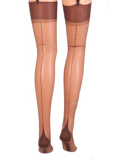 Cervin Seduction Couture Nylons with Back Seam
