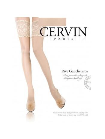 Cervin Rive Gauche Silk Hold-Ups