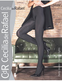 Cecilia de Rafael Gatsby Opaque Tights