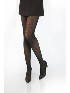 CdR Samburu Zig-Zag moda tights