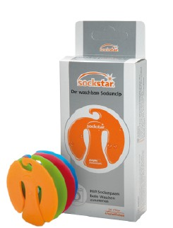 Sockstar Sock Clips Family Pack