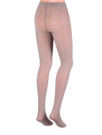 Dolci Calze Countryside Wool Tights taupe