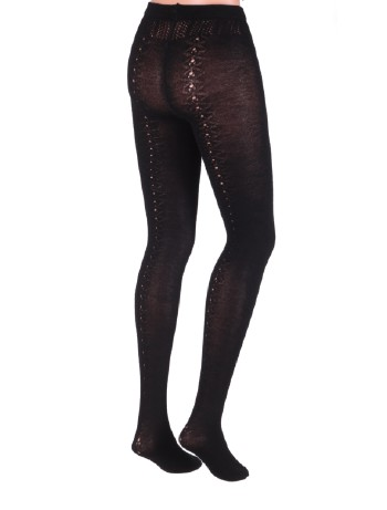 Dolci Calze Countryside Wool Tights black