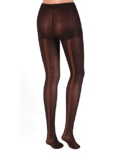Dolci Calze Dorian Fashion Back Seamed Tights