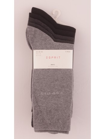 Esprit Men's Socks in 5 Pack mix