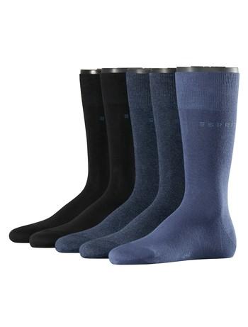 Esprit Men's Socks in 5 Pack blue mix