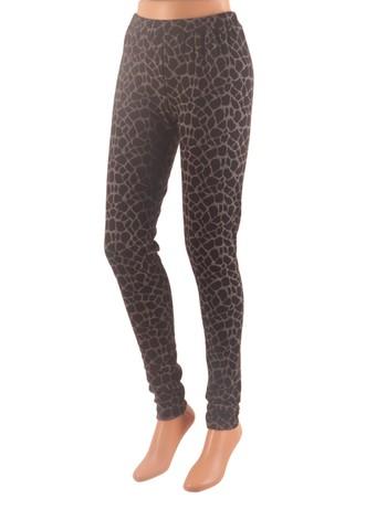 Esprit Fashion Animal Print - Leggings black