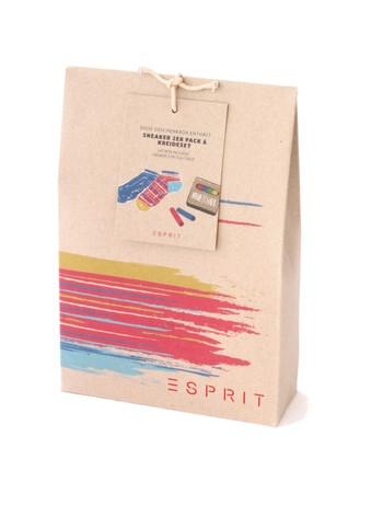 Esprit Sneaker 2 Pack & Chalk Box