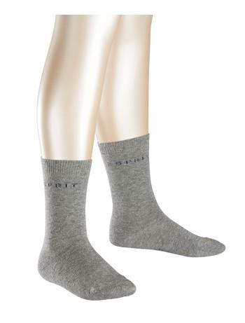 Esprit 2-pack Logo Socks for Children lightgray tinged