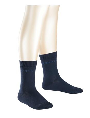 Esprit 2-pack Logo Socks for Children navy