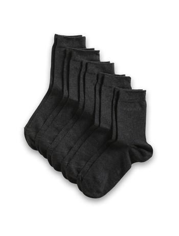 Esprit Women's Essential Socks 5 Pack anthracite