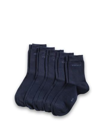 Esprit Women's Essential Socks 5 Pack navy