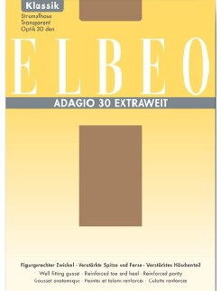 ELBEO Adagio 30 Extra Wide Plus Size Tights