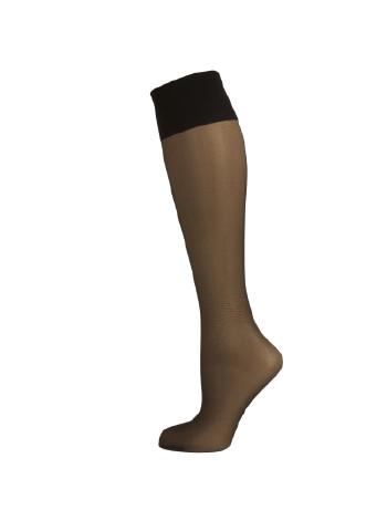 Elbeo Seidenmatt 20 Knee High Socks black