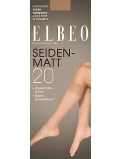 Elbeo Seidenmatt 20 Knee High Socks