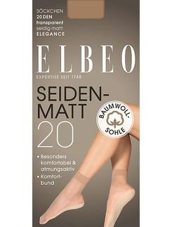 Elbeo Elegance Seidenmatt 20 fine socks