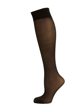 Elbeo Elegance Perfect Curves 20 Knee High Socks black