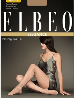 Elbeo Elegance brilliant and shiny transparent tights 15den