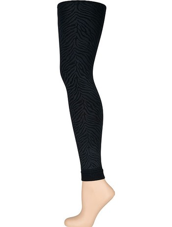 Elbeo Elegance Soft & Warm Leggings black zebra