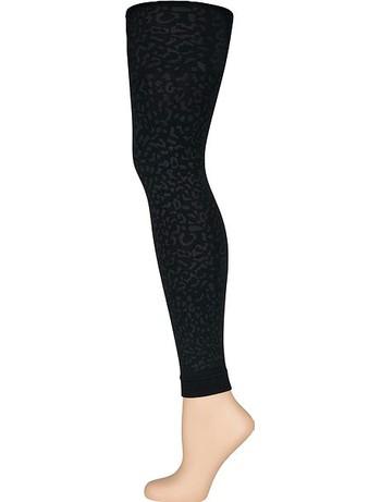 Elbeo Elegance Soft & Warm Leggings black leo