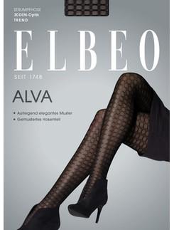 Elbeo Alva patterned melange look tights
