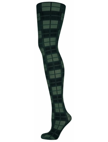 Elbeo Annabel patterned tights green