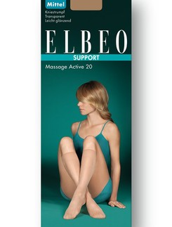 Elbeo Support Massage Active 20 Knee High Socks