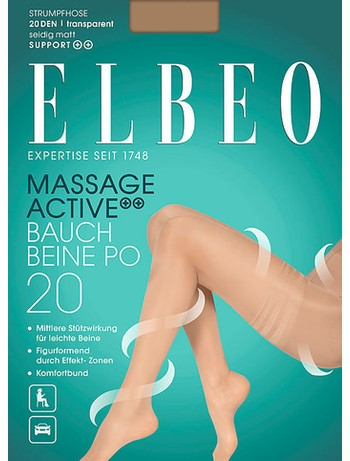 Elbeo Massage Active 20 Tummy-Thighs-Buttocks Tights