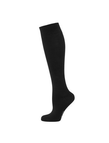 Elbeo Bamboo Knee High Socks black