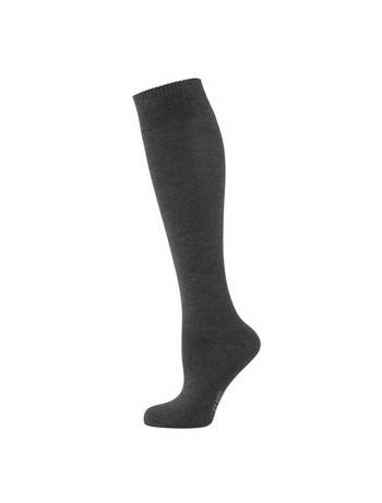 Elbeo Bamboo Knee High Socks schiefer mel