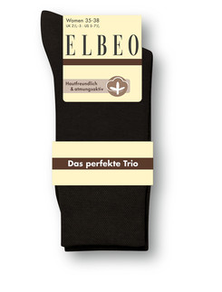 Elbeo The Perfect Trio Cotton Socks