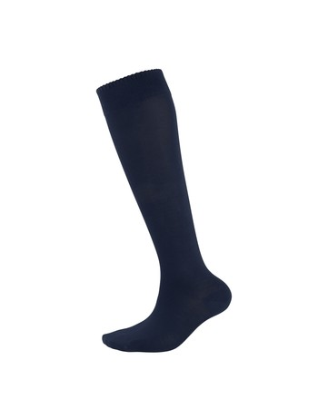 Elbeo Bamboo Knee High Socks for Men nightblue