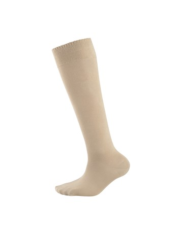 Elbeo Bamboo Knee High Socks for Men linnen