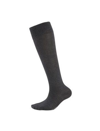 Elbeo Bamboo Knee High Socks for Men schiefer mel