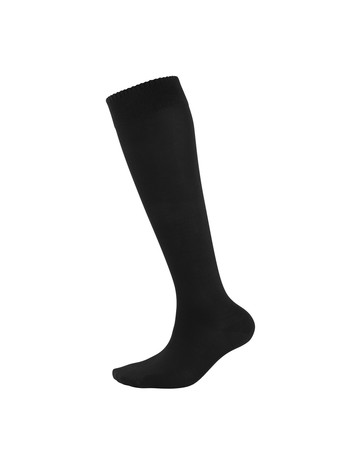 Elbeo Bamboo Knee High Socks for Men black