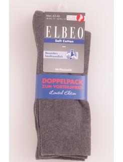 Elbeo Soft Cotton Socks Double Pack